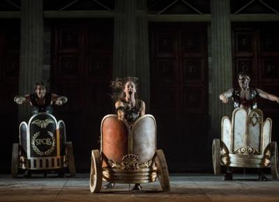 Ben Hur at the Teatre Coliseum of Barcelona