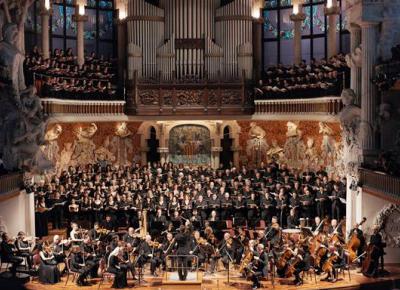 The concerts of the Palau de la Música Catalana