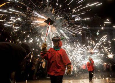 Correfoc Fiestas de Santa Eulàlia