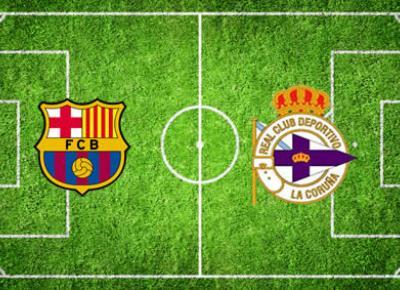 FC Barcelona - RCD de la Coruña
