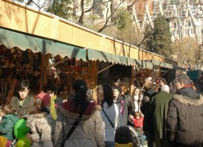 Christmas Market of the Sagrada Familia