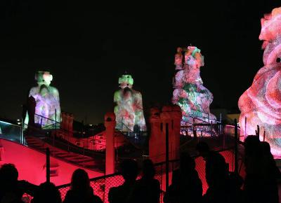 La Pedrera Night Experience - Espectacle de nit