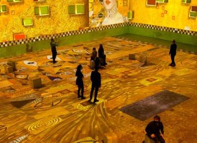 Klimt: La experiencia inmersiva en IDEAL Centre d'Arts Digitals