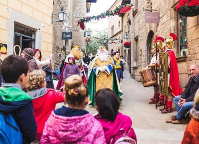 Christmas in the Poble Espanyol