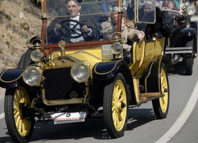 The International Vintage Car Rally Barcelona-Sitges