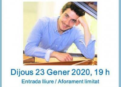 Recital piano Pablo Díez Teresa