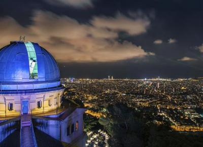 Visit to the Fabra observatory and dinner with stars