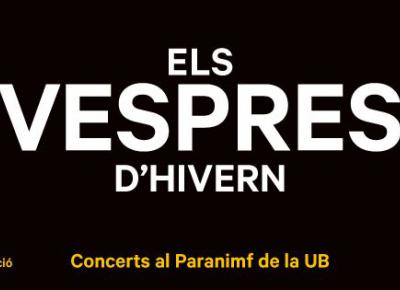The Vespres d'Hivern of the University of Barcelona
