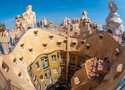 Casa Mila - La Pedrera - Antoni Gaudí