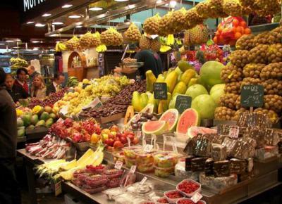 El Mercado de La Boqueria