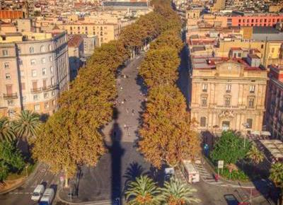 Monumento a Colón La Rambla