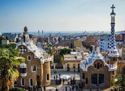 Parc Güell  - Antoni Gaudí